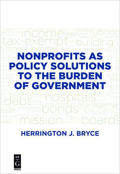 Nonprofits as Policy Solutions to the Burden of Government