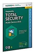 Kaspersky Total Security Multi-Device 2016 Upgrade (FFP). Für Windows Vista/7/8/10/MAC/Android/iOS