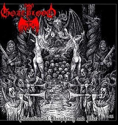 Adoration Of Blasphemy And War Lp (Vinyl)