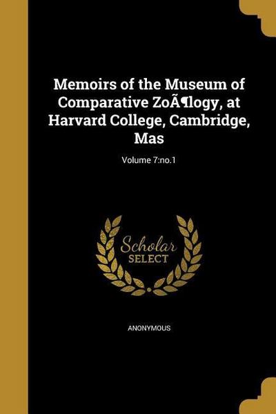 MEMOIRS OF THE MUSEUM OF COMPA