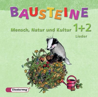 Bausteine Mensch, Natur und Kultur, Ausgabe Baden-Württemberg Klasse 1/2, 1 Audio-CD