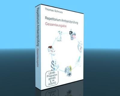 Repetitorium Amtsarztprüfung, Gesamtausgabe, 7 DVDs - Video Commerz - DVD, Deutsch, Thomas Schnura, Werner Sandrowski, Gesamtausgabe, Gesamtausgabe