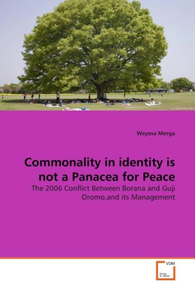 Commonality in identity is not a Panacea for Peace