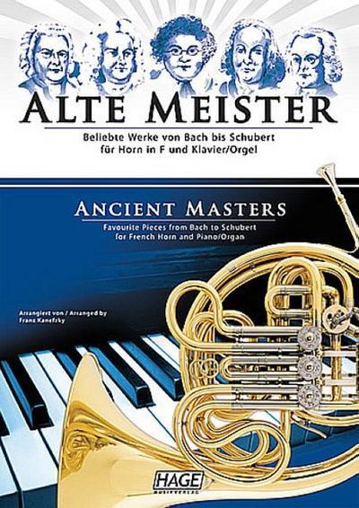 Alte Meisterfür Horn und Klavier (Orgel)
