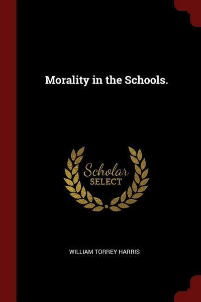 Morality in the Schools.