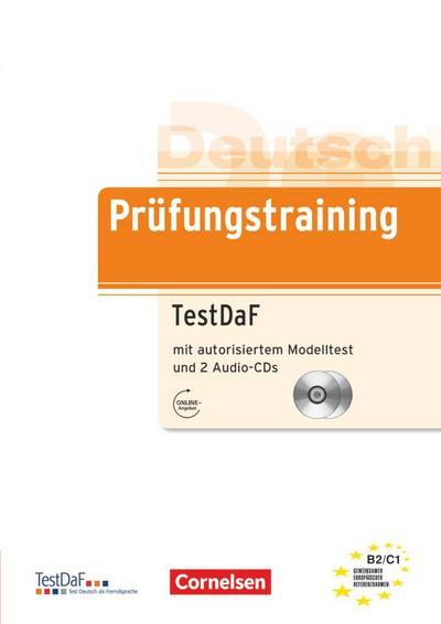 Deutsch als Fremdsprache. Prüfungstraining Lernerhandbuch mit 2 Audio-CDs
