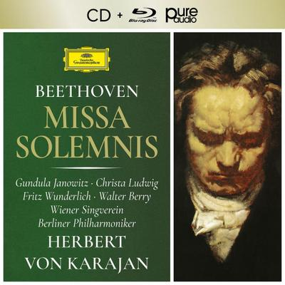 Missa Solemnis, 1 Audio-CD + 1 Blu-ray-Audio pure