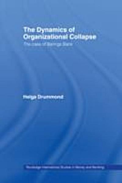 Dynamics of Organizational Collapse