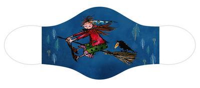 Die kleine Hexe: Alltagsmaske von der kleinen Hexe