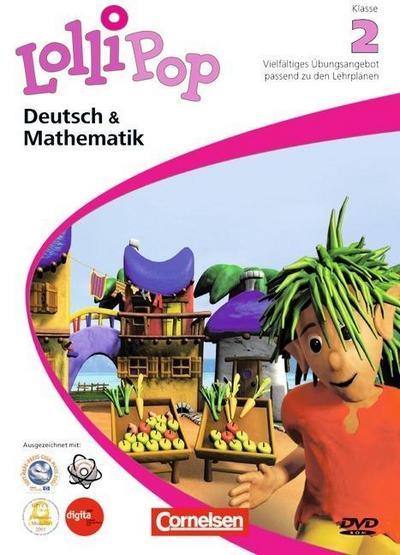 LolliPop Multimedia Deutsch & Mathematik 2. Klasse, 1 DVD-ROM