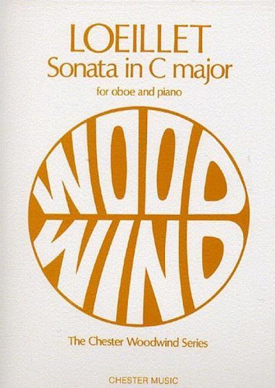 Sonata C major : for oboe and piano