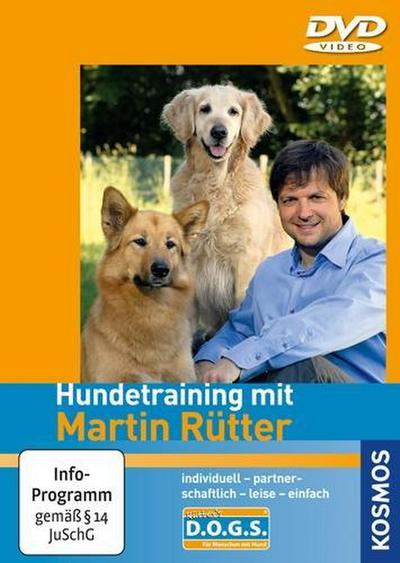 Hundetraining mit Martin Rütter. DVD-Video