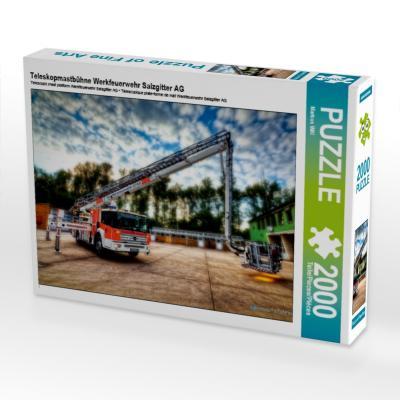 Teleskopmastbühne Werkfeuerwehr Salzgitter AG (Puzzle)