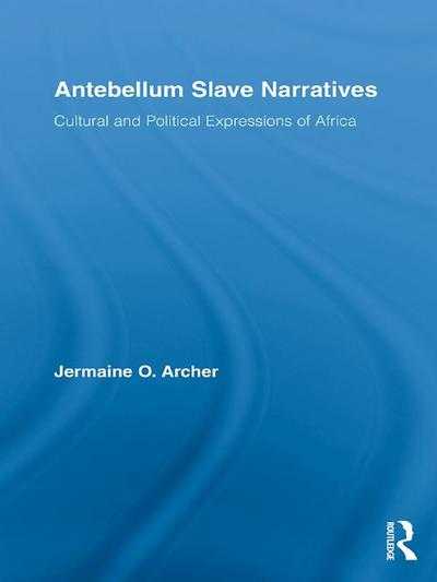 Antebellum Slave Narratives