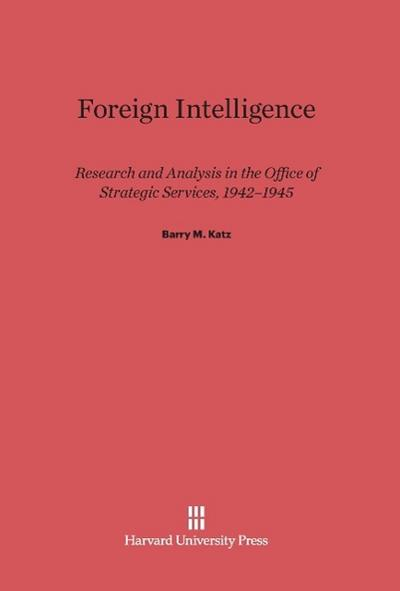 Foreign Intelligence