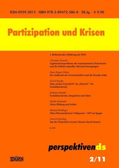 Partizipation und Krisen; Perspektiven ds; Deutsch