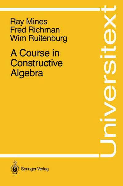 Course in Constructive Algebra