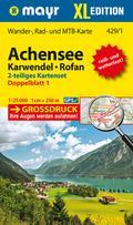 Achensee - Karwendel - Rofan XL (2-Karten-Set ...