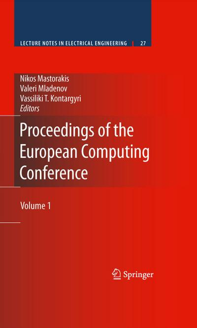 Proceedings of the European Computing Conference