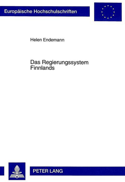 Das Regierungssystem Finnlands
