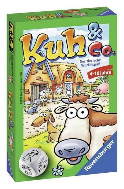 Kuh & Co.: Der tierische Würfelspaß
