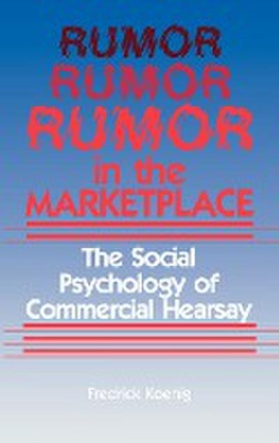 Rumor in the Marketplace