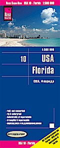 Reise Know-How Landkarte USA 10. Florida 1 :  ...