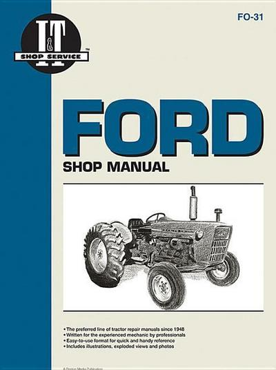 Ford Shop Manual Series 2000 3000 & 4000