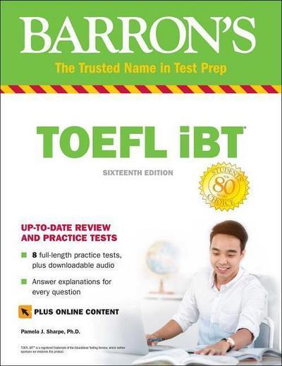 Barron's TOEFL iBT with Online Tests & Downloadable Audio