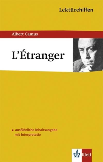Lektürehilfen Albert Camus 'L' Etranger'