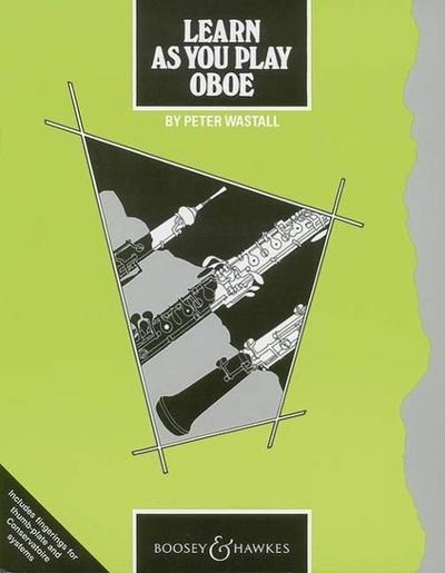 Learn As You Play Oboe (englische Ausgabe)