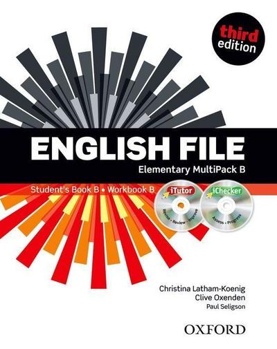 English File, Elementary, Third Edition MultiPACK B with iTutor and iChecker, w. DVD and CD-ROM