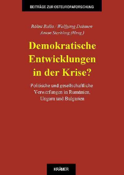 Demokratische Entwicklungen in der Krise?