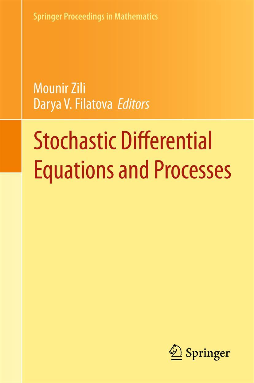 Stochastic Differential Equations and Processes Mounir Zili