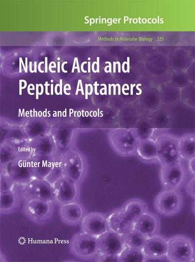 Nucleic Acid and Peptide Aptamers