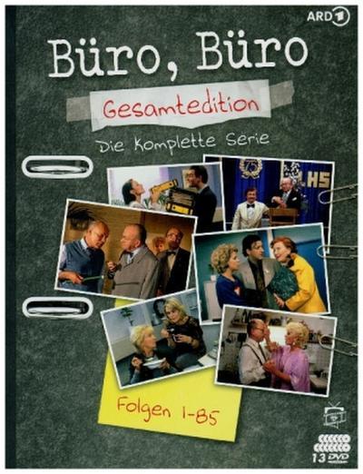 Büro, Büro - Gesamtedition: Die kompletten Staffeln 1-3 (Folgen 1-85) (13 DVDs)