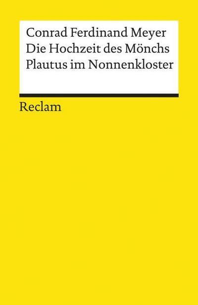 Die Hochzeit des Mönchs / Plautus im Nonnenkloster