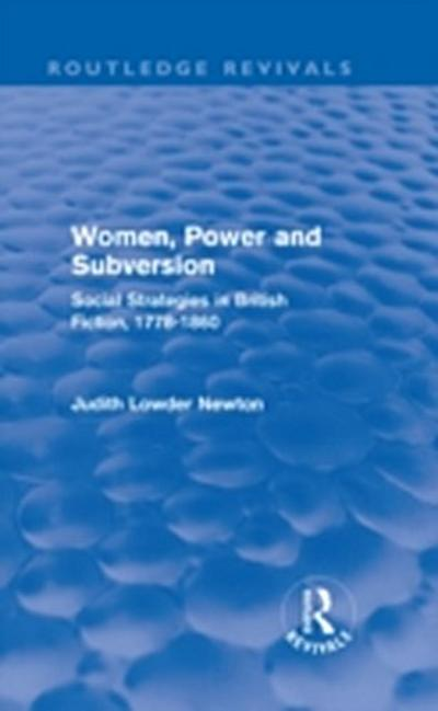 Women, Power and Subversion (Routledge Revivals)