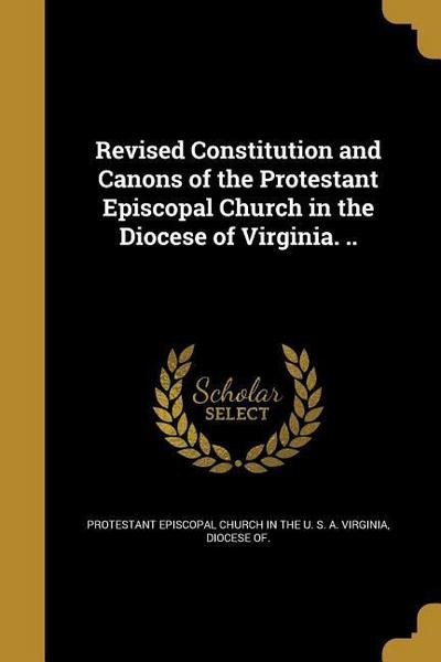 REV CONSTITUTION & CANONS OF T