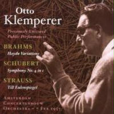 Otto Klemperer In Unveröffentlichten Auf