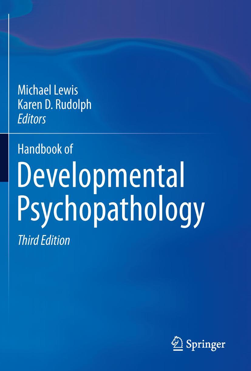 Handbook of Developmental Psychopathology | Michael Lewis |  9781489976727