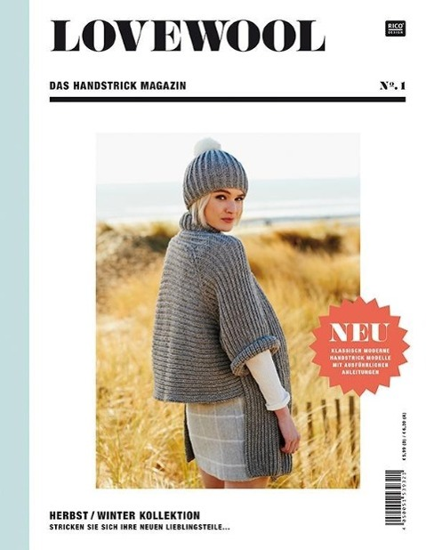 LOVEWOOL Das Handstrick Magazin No.1, Rico Design GmbH & Co. KG