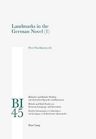 Landmarks in the German Novel