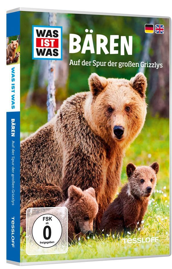 Was ist was DVD: Bären. Auf der Spur der großen Grizzlys,