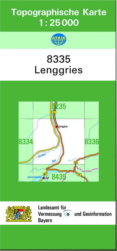 Lenggries 1 : 25 000