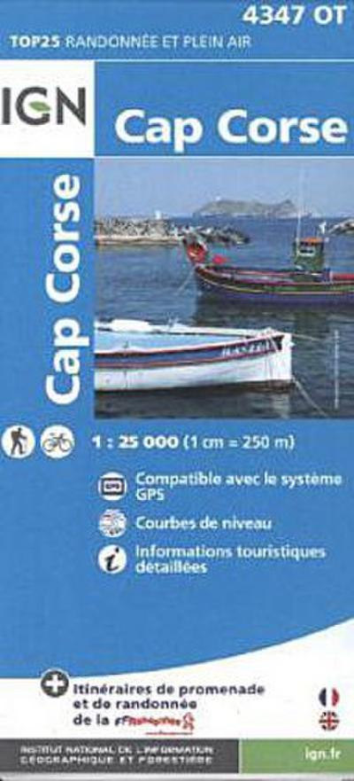 Korsika Cap Corse 1 : 25 000