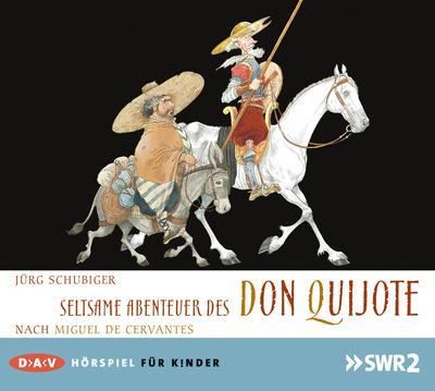 Seltsame Abenteuer des Don Quijote, 1 Audio-CD
