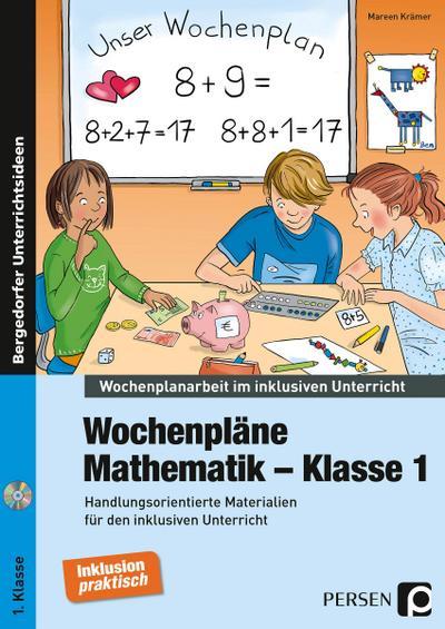 Wochenpläne Mathematik - Klasse 1