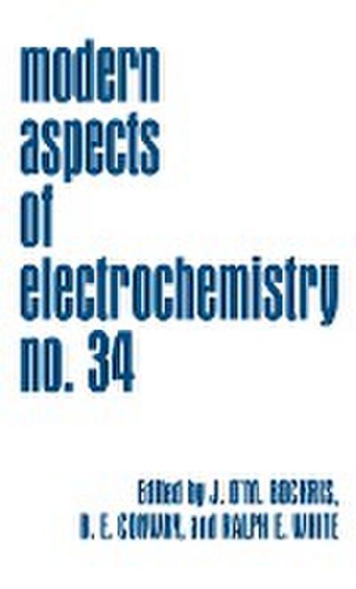 Modern Aspects of Electrochemistry 34