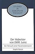 «Der Hofmeister» von J. M. R. Lenz